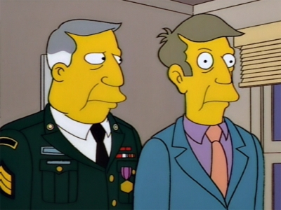 Why does Tamzarian look like Skinner has a finger up his ass?