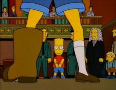 Mr Simpson! Disparaging the boot is a bootable offense!