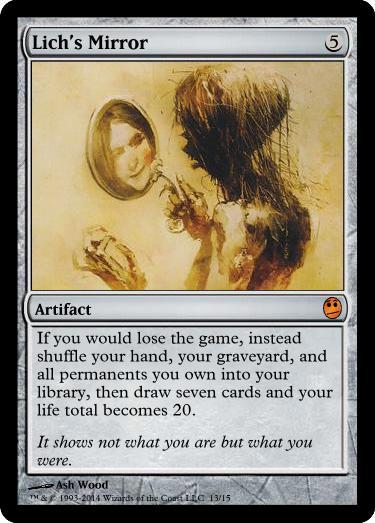 Jinxed Ring Stronghold HEAVILY PLD Artifact Rare MAGIC GATHERING CARD ABUGames